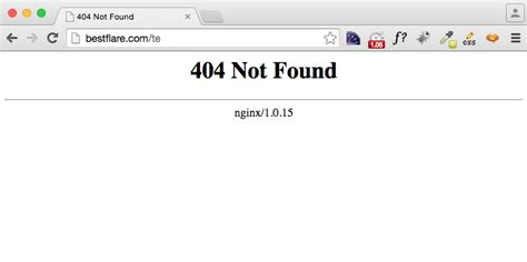 404 not found implement custom error page in apache nginx using errordocument error page