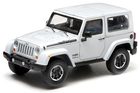 Greenlight Jeep Wrangler Polar Greenlight Collectibles 86057 1 43rd Scale 2014 Jeep