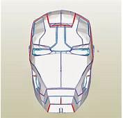 Dali Lomo Iron Man Mark 42 Costume Helmet DIY  Cardboard