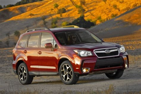 motor trend names subaru forester suv of the year u s