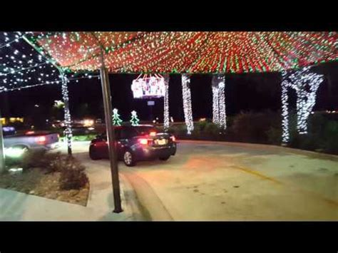 fil a waters christmas lights fil a waters ave ta fl christmas part 2 youtube