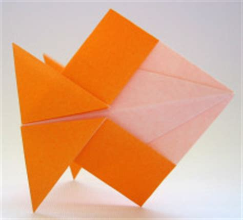Origami Goldfish - learn about the of origami how to fold an origami