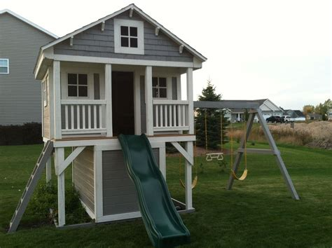swing set playhouse kids playhouse turn our swing set into this maybe