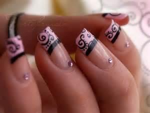 Nails nails art nails design pink nails image 587764 on favim