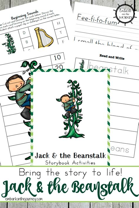 and the beanstalk worksheets for preschool free and the beanstalk printables free homeschool