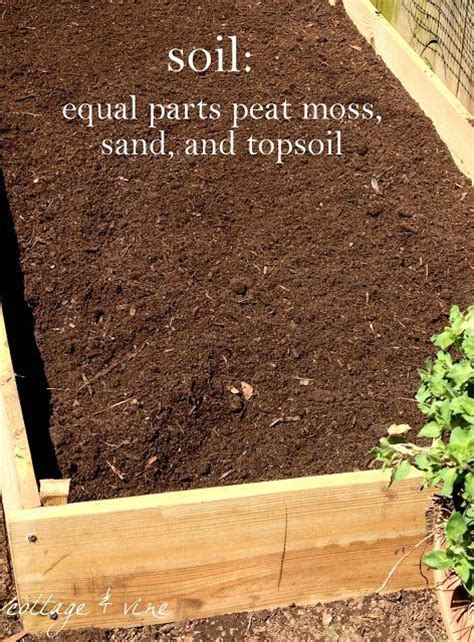 Soil Recipe I Would Also Add Compost And Or Some Kind Raised Bed Soil Mix Vegetable Garden