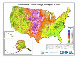 United States Wind Map