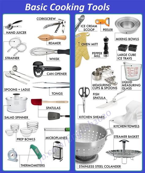 basic cooking utensils i eugenie kitchen 1000 images about english classes on pinterest english
