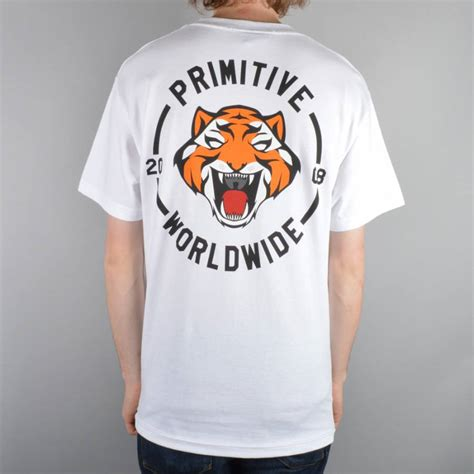 T Shirt Primitive Skateboard primitive apparel primitive rally t shirt white primitive apparel from skate store uk