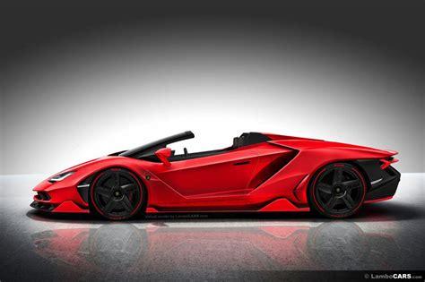 Convertible Lamborghini This Is What Lamborghini Centenario Roadster Should Look Like
