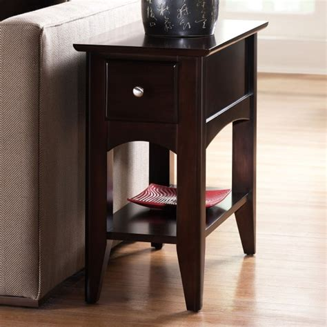 wedge chairside table with drawer wedge end table with drawer woodworking projects plans