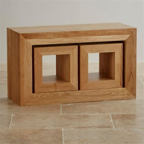 oak nest of tables nest of tables oak furniture land