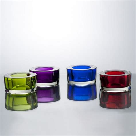 Colored Glass Pillar Candle Holders Votive Holders Colored Glass Votive Candle Holders With