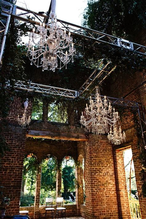 Barnsley Gardens Lights by 25 Best Ideas About Industrial Style Weddings On