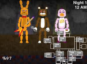 Wait what playing a fnaf 3 fanmade game by sodatube101 on