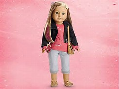 As a American Girl Doll Isabelle