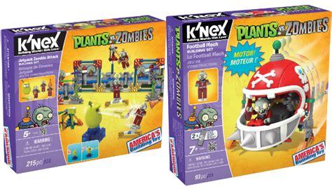 Plant Vs Family Set 2 plants vs zombies brings the turf war to k nex