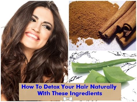 How To Detox Your Hair Naturally by How To Detox Your Hair Naturally With These Ingredients