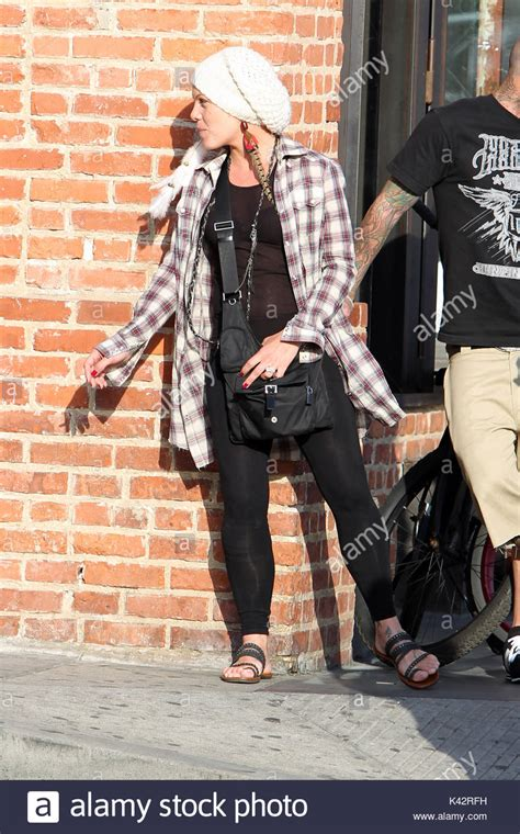 Other Designers Carey Is New Of Pinko by Pink Pink And Husband Carey Hart Spotted Outside
