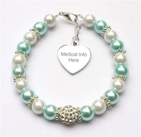 Handmade Alert Bracelets - handmade engraved alert bracelet contact