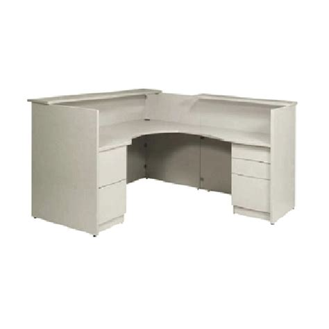 Curved L Shaped Desk Reception Desk L Shaped Office Desk With Curved Return And Pedestals