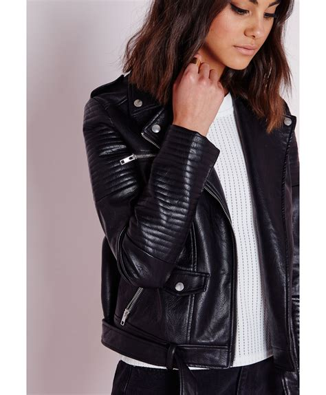 Faux Leather Jacket black faux leather jacket jackets review