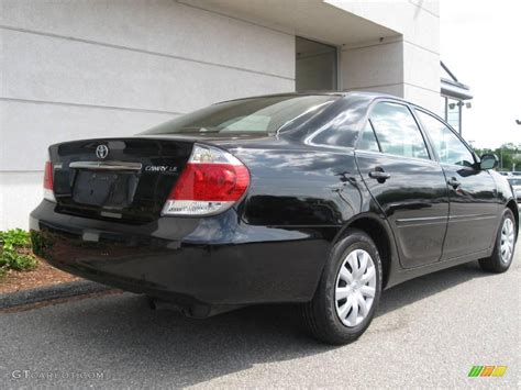 2005 toyota camry interior 2005 black toyota camry le 10683488 photo 3 gtcarlot