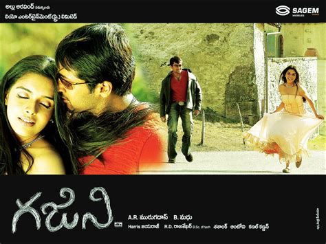 background themes of telugu movies ghajini telugu movie firstlook posters wallpapers in hd