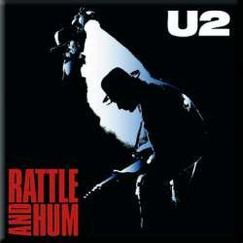Kitchen Furniture Catalog by U2 Metal Steel Fridge Magnet Rattle And Hum Album Cover