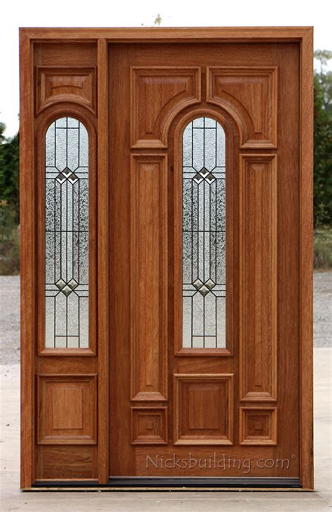 exterior door sidelight exterior entry doors with 1 sidelight solid mahogany