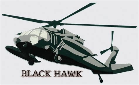 Auto Decals Thunder Bay by Black Hawk Helicopter Decal Bay Listings
