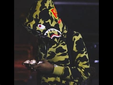 Bape Shark Ponr Zip Hoodie Yellow bape 1st camo shark ponr hoodie yellow