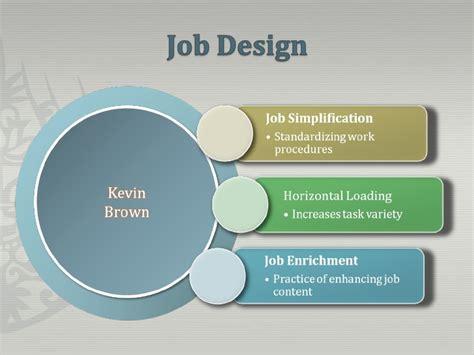 powerpoint design jobs brown kevin job design power point