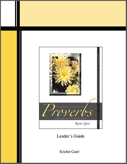 space leader kit exploring proverbs for what matters most books study books and leader guides in praise of god ministries