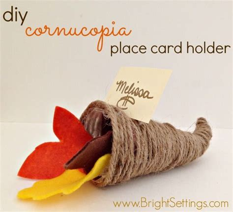 diy place card holders a bit of whimsy the culinary chase 1000 images about thanksgiving decor on pinterest
