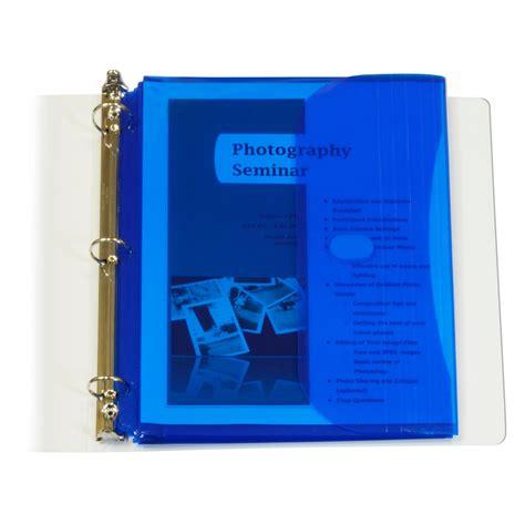 Dijamin Pocket Binder A4 With Best Flap c line biodegradable acid free poly binder pocket with 1 inch gusset side loading