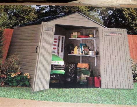 Rubbermaid 5h80 Shed by Rubbermaid Roughneck 7 X 7 Large Outdoor Storage