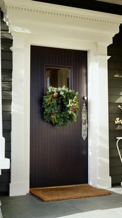 Southwestern Home Decor 22 christmas wreath ideas for your front door