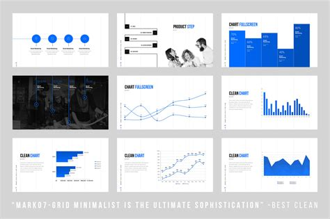 minimalist powerpoint templates grids minimal powerpoint template by dublin design