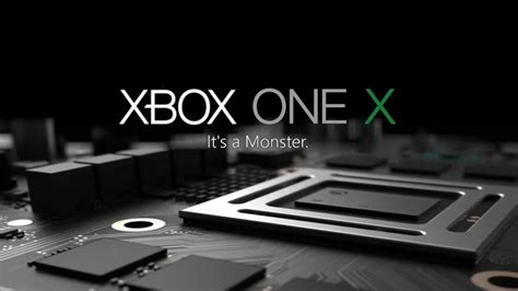 X One X microsoft unleashes xbox one x at e3 2017 legit