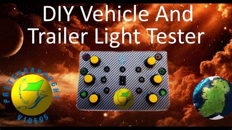 trailer light tester box diy trailer light tester tutorial