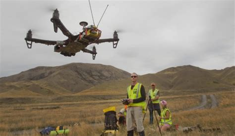Search In Nz Search Rescue Teams Uas Exercises In New Zealand Uas Vision