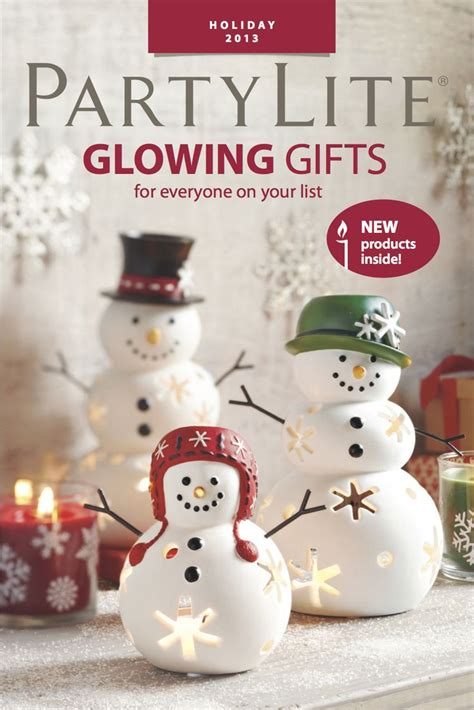 christmas ideas catalogues 48 best partylite images on candle