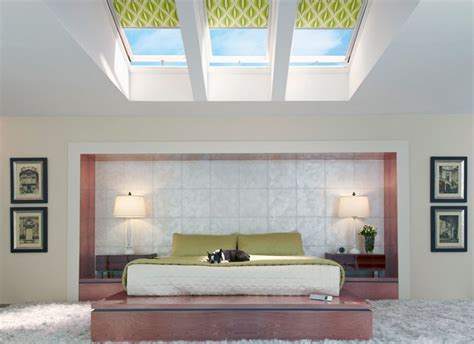 bedroom skylight bedroom with ceiling skylight shade home decorating