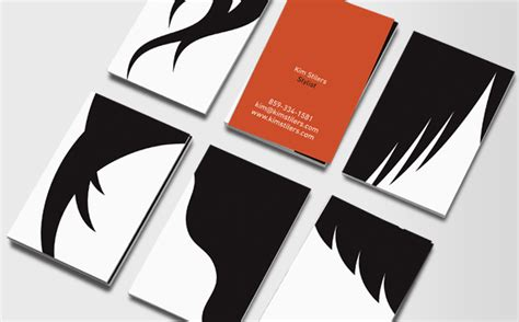 graphics hair design graphic hair business cards