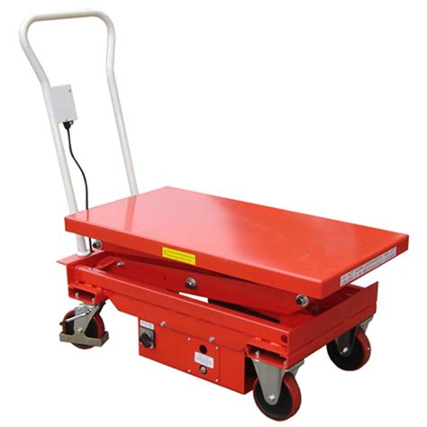 lift mate electric scissor lift table 500kg