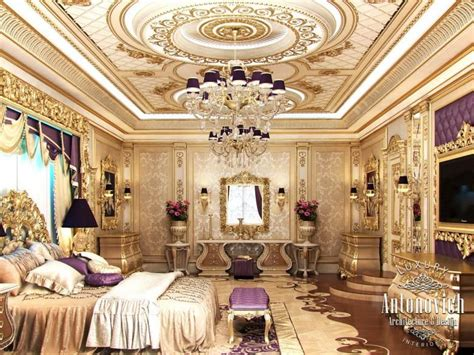 Luxurious Master Bedrooms by Luxury Antonovich Design Master Bedroom In Classic Style