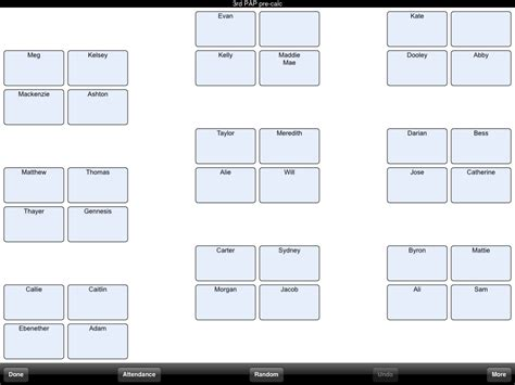 classroom seating chart template peerpex