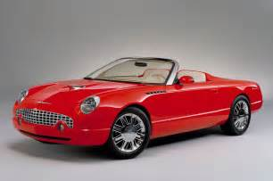 the new thunderbird car ford thunderbird sports roadster concept photo gallery