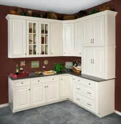 marvelous New Design Kitchen Cabinets #1: Hudson_AntWhite.jpg